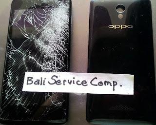 cara perbaiki handphone kaca pecah