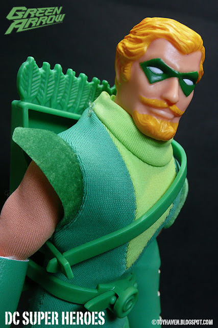 Green Arrow Nude Mattel Retro Action Mego Like Figure