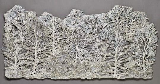 drzewa haftem 3D