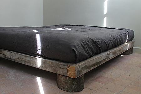 Muebles de madera reciclada ideas para for Reciclar una cama de madera