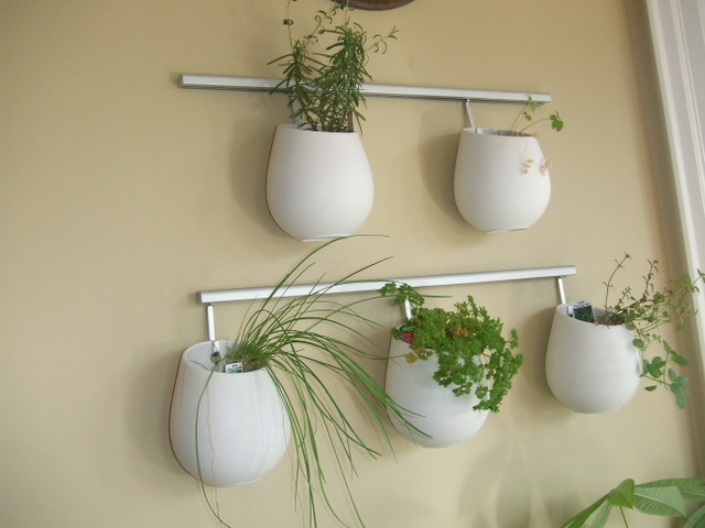 Ikea Asker indoor herb garden DIY
