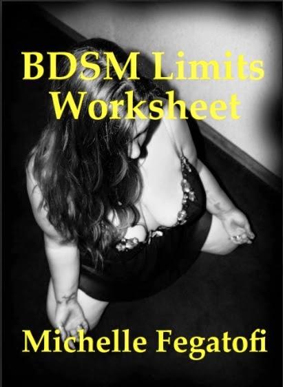 BDSM Limits Worksheet by Michelle Fegatofi