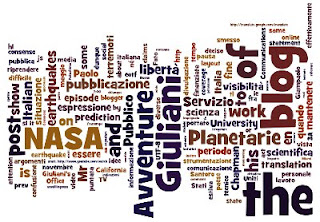 Tag cloud di Avventure Planetarie generata con Wordle