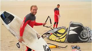 mark mathews kiteboarding tow in