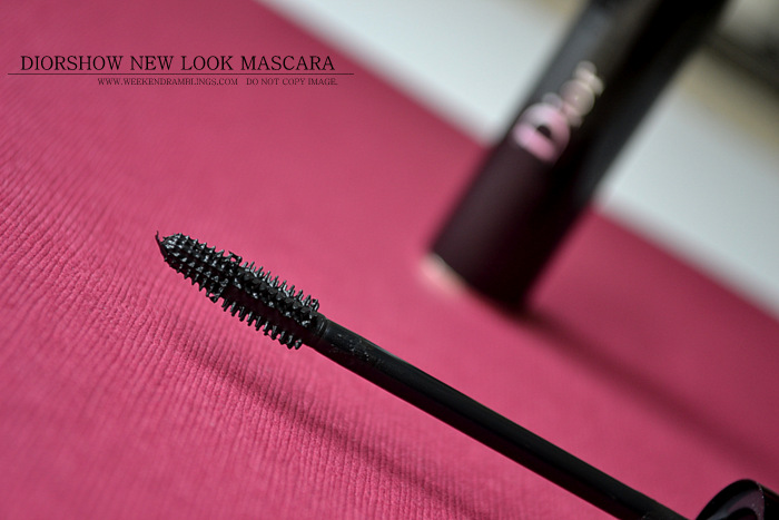 Diorshow New Look Mascara Black Indian Beauty Makeup Blog Review Ingredients Use