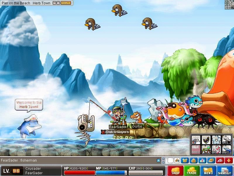 Maplestory Fishing Mini Game