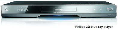 Philips 3D blue-ray player