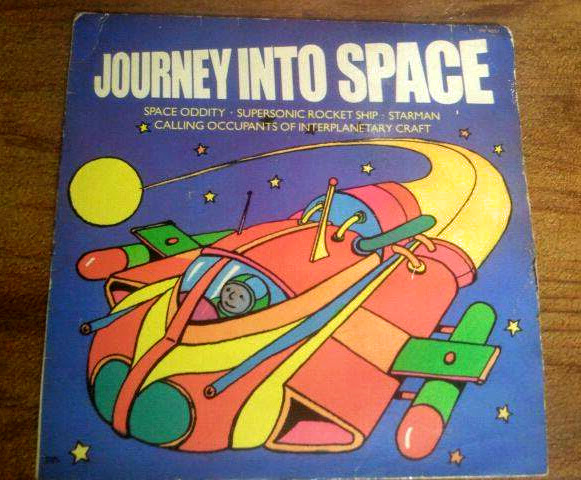 Journey Into Space Vinyl Record David Bowie