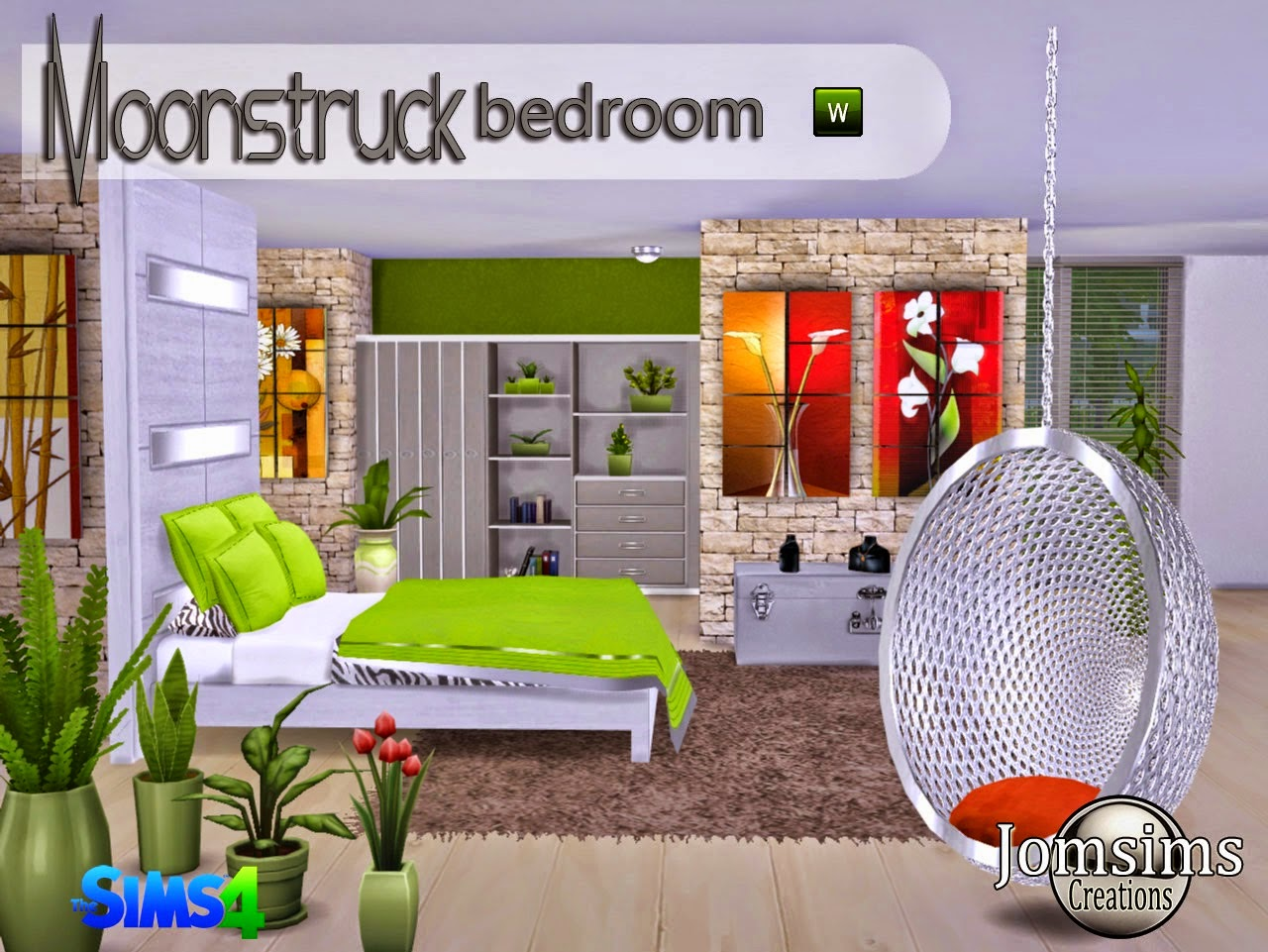 Moonstruck bedroom set by jomsims