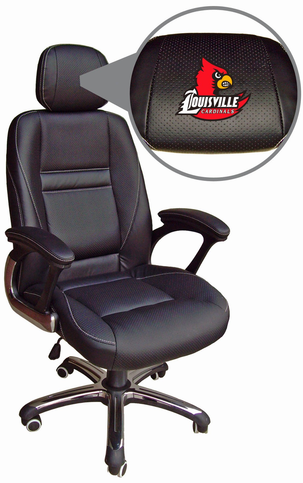 Louisville Cardinals NCAA Office Chair