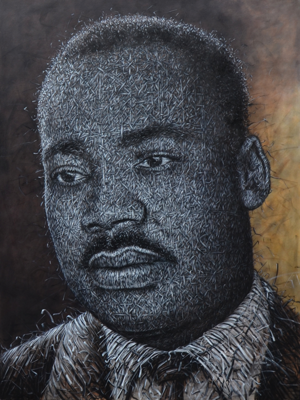 11-Martin-Luther-King-Jr-Alexi-Torres-Woven-Oil-Paintings-www-designstack-co