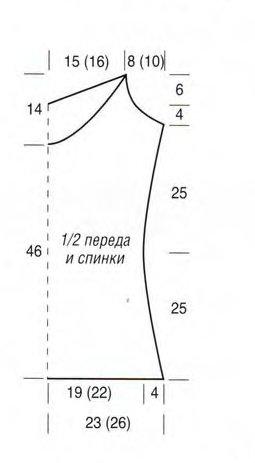 Выкройка топа без рукавов инструкция