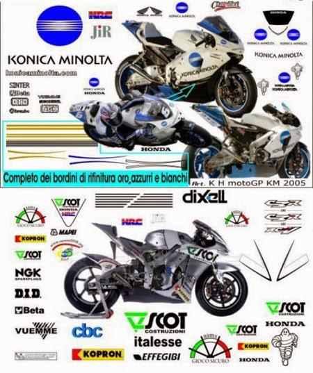 koleksi gambar stiker motor