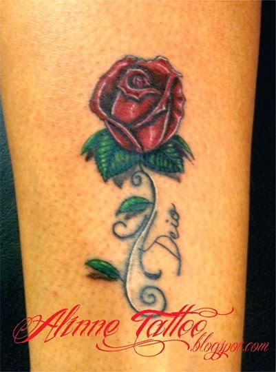 Rosas Tatuagem Feminina