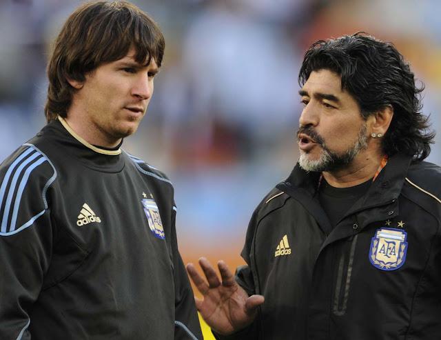 Messi: Maradona Adalah Inspirasi Saya