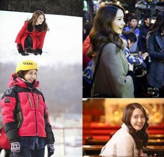 Syuting 'Prime Minister and I' di Tengah Salju, YoonA Tetap Ceria