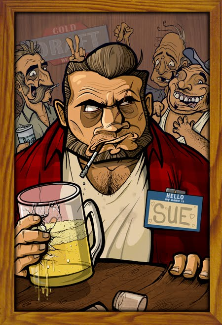 a boy named sue They've dubbed the place a boy named sue after johnny cash's ruggedly droll  rockabilly tune about a tough guy who seeks revenge against.