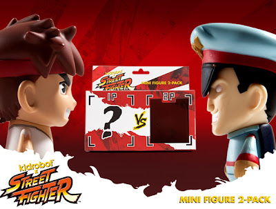 "Kidrobot x Street Fighter ""Vs"" Mini Figure 2 Packs"
