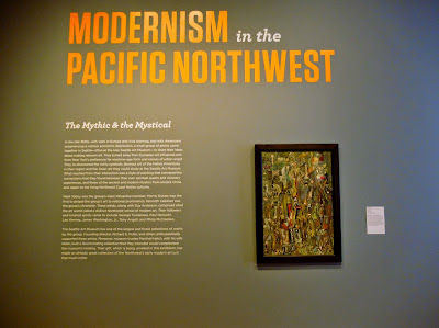 Modernism in the Pacific Northwest Exhibit Wall