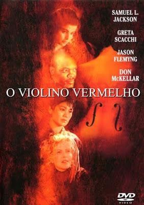 Filme Poster O Violino Vermelho DVDRip XviD & RMVB Dublado