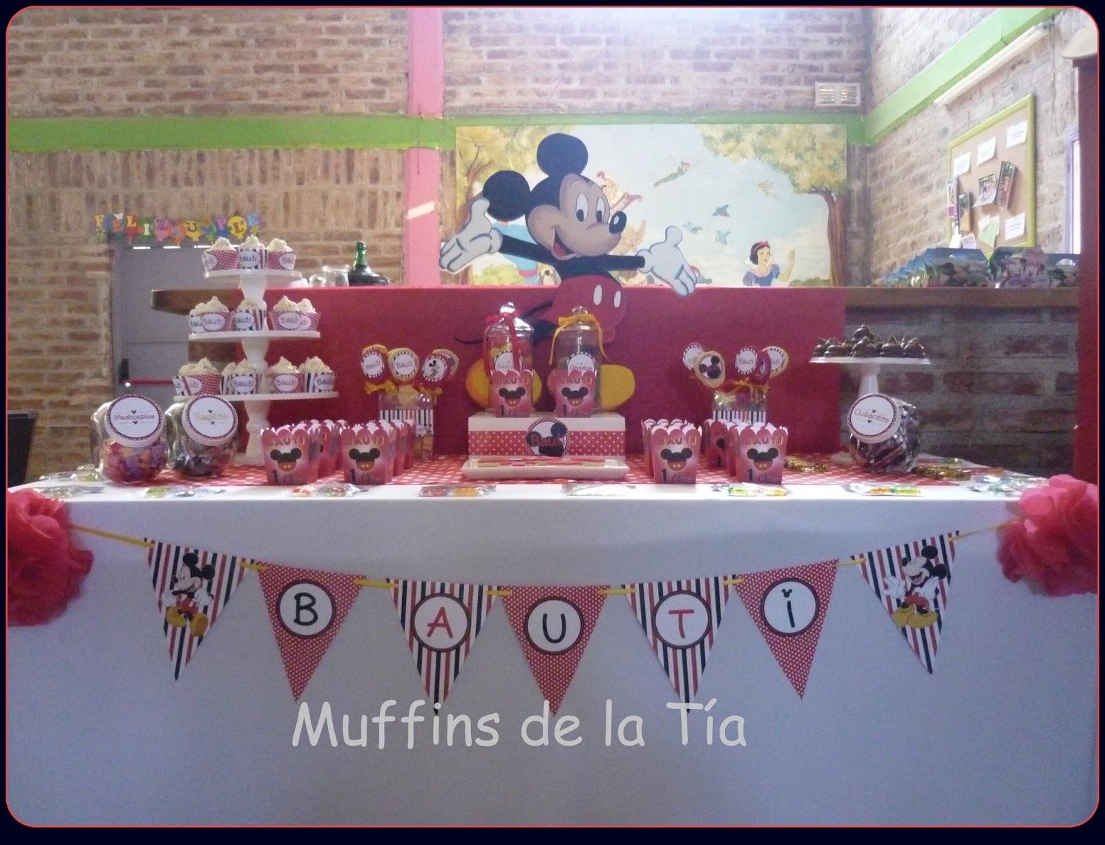 Muffins De La T A Candy Bar Mesas Dulces Con Dise O