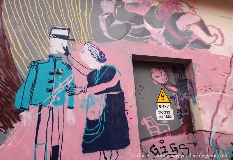 Inspiring street art - Vilnius, Lithuania