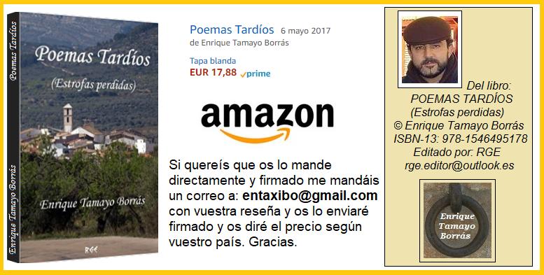 MI LIBRO YA EN STOCK Y A LA VENTA EN AMAZON