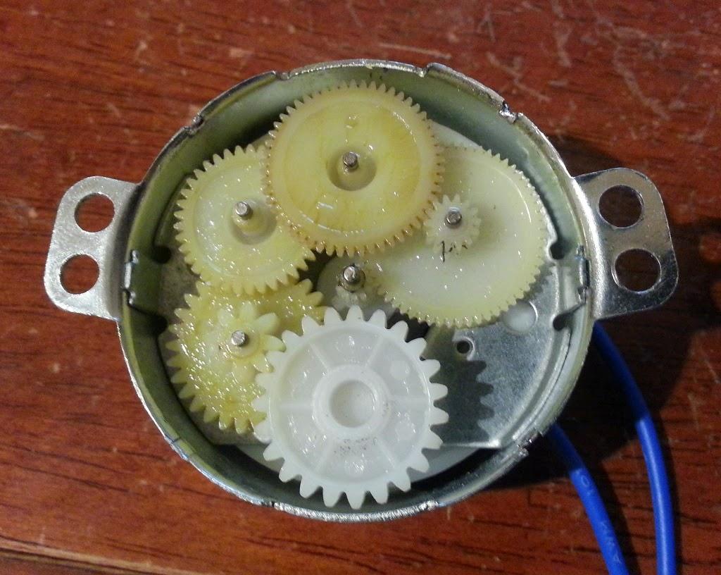 Random Technical Stuff Tyc Synchronous Ac Motor Teardown
