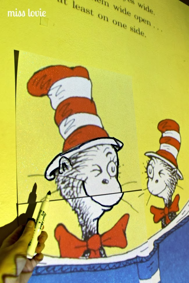 & Miss Lovie: Dr. Seuss Door Decoration: I Can Read With My Eyes Shut