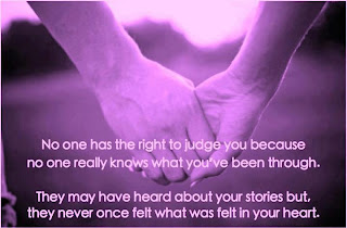 no one has right to judge you quote