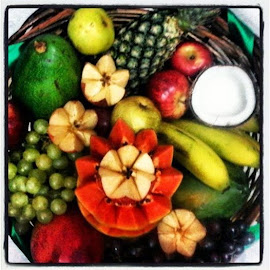 Cesto de Frutas para Oxóssi
