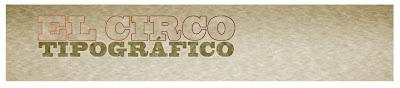 Ilustración con tipografías-carbografico-el circo tipografico