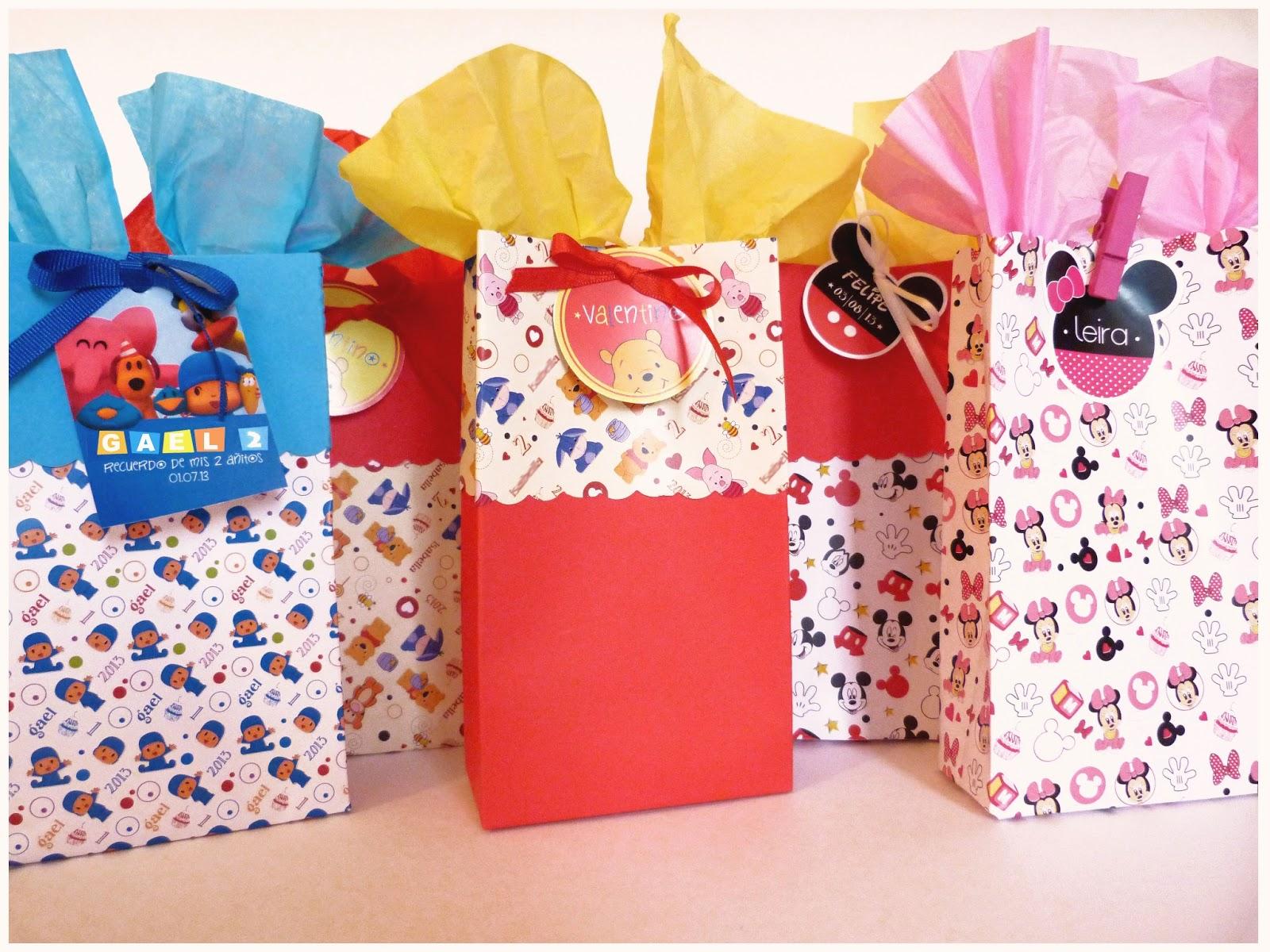 La tiendita party studio packs y bolsas - Bolsas de regalo personalizadas ...