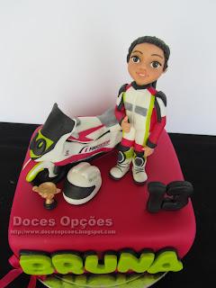 moto race cake
