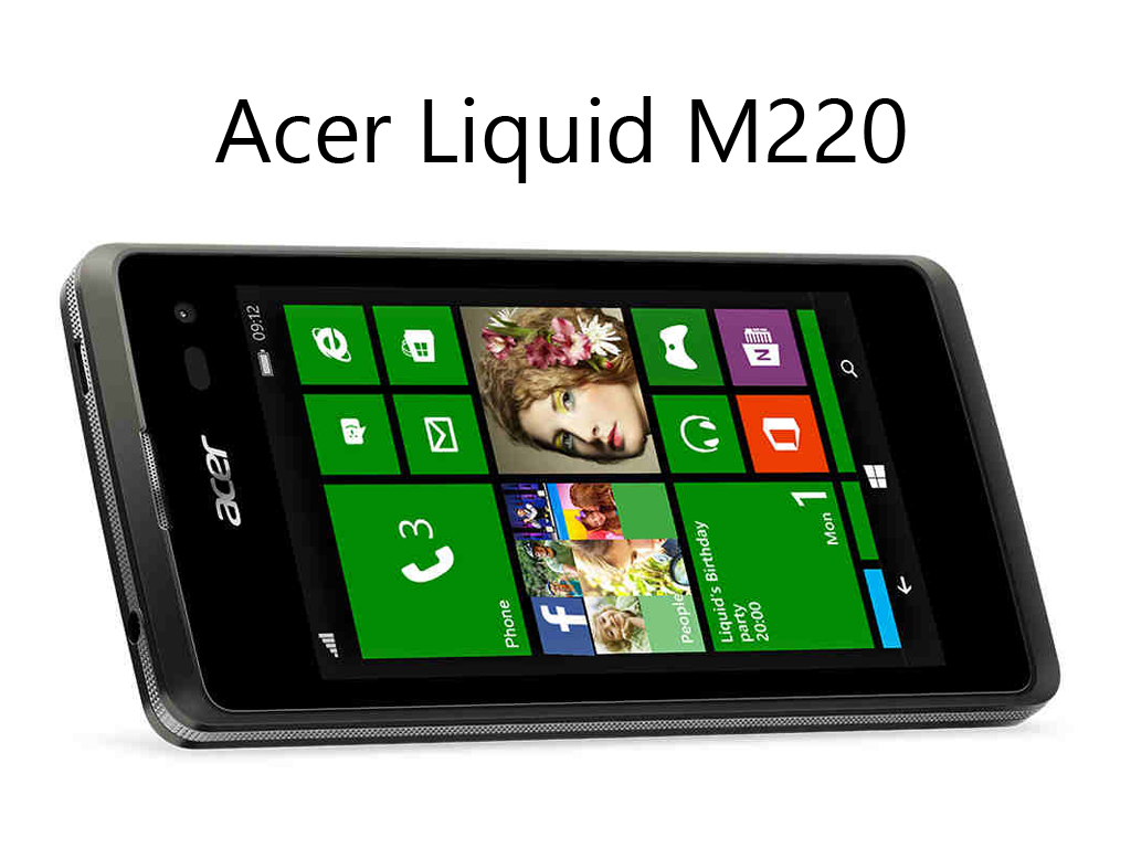 Acer Unveils Liquid M220: Entry Level, Upgradeable To Windows 10, 4-inch