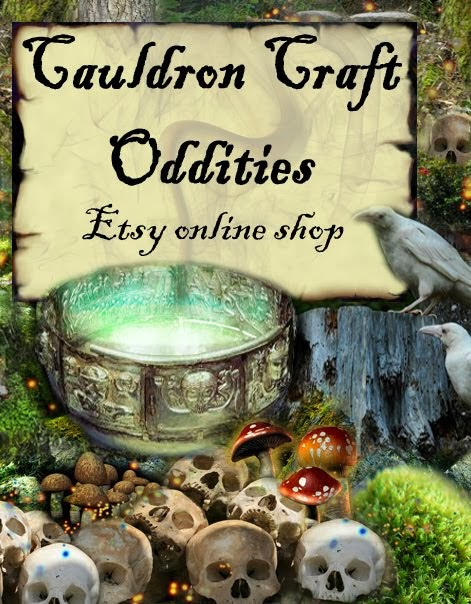 Cauldron Craft Oddities on Etsy