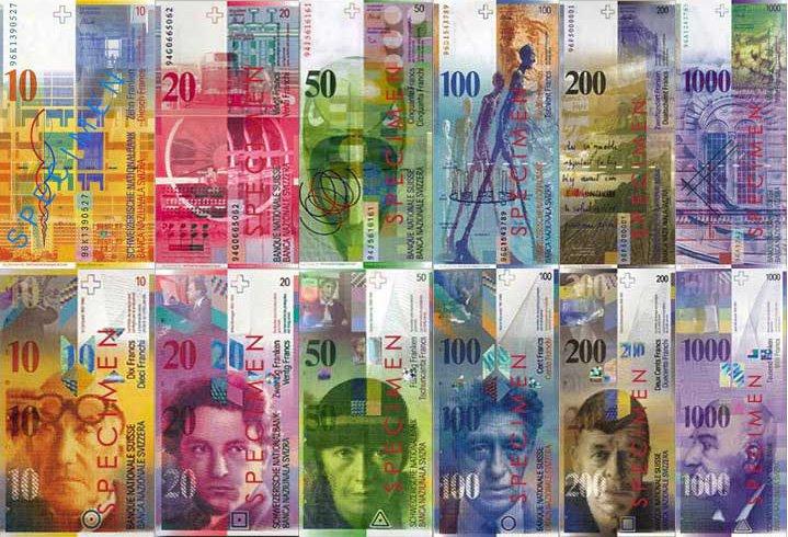 euros a franco suizos: