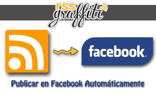 Publicar automáticamente las entradas en Facebook