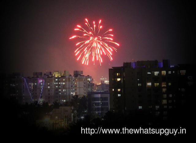 Fireworks in Bangalore