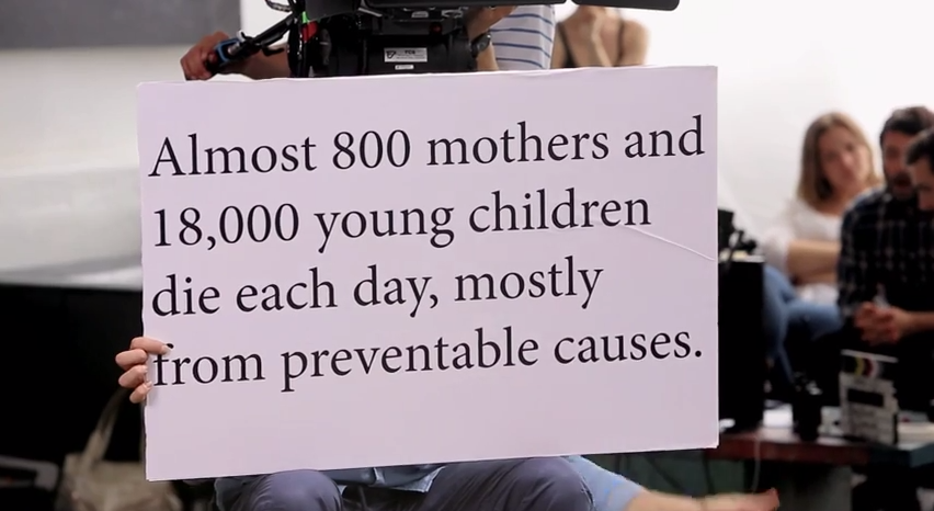 每天有將近800位母親和1萬8000名幼童死亡,大多數為可預防死因