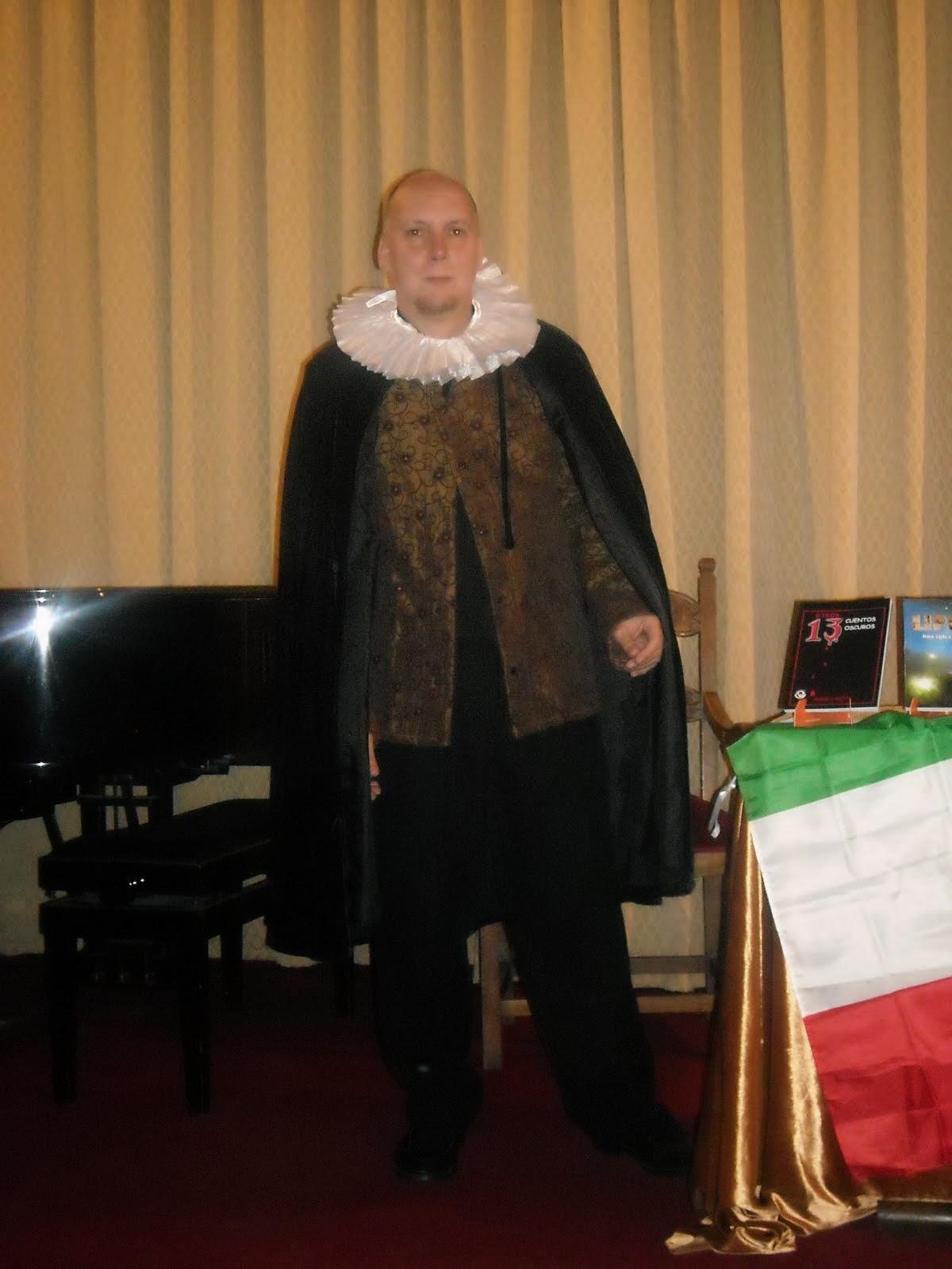 En la embajada argentina en Roma