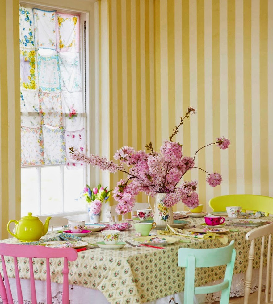 Selina lake friday inspiration spring pastels for Pastel dining room ideas
