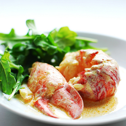 Lindaraxa: Valentine's Day...Lobster Newburg