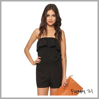 Black short jumpsuit