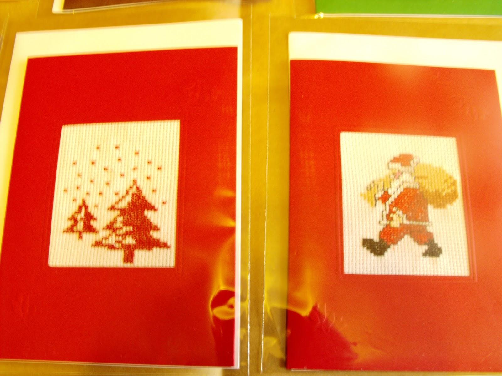Hecho a mano - Tarjetas con motivos navidenos ...