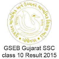 Gujarat Board SSC Result