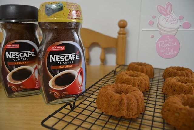 Mini Bundts Cakes De  Nescafé®