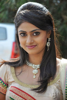 Megha Sree looks lovely at Anaganaga Oka Chitram first look launch