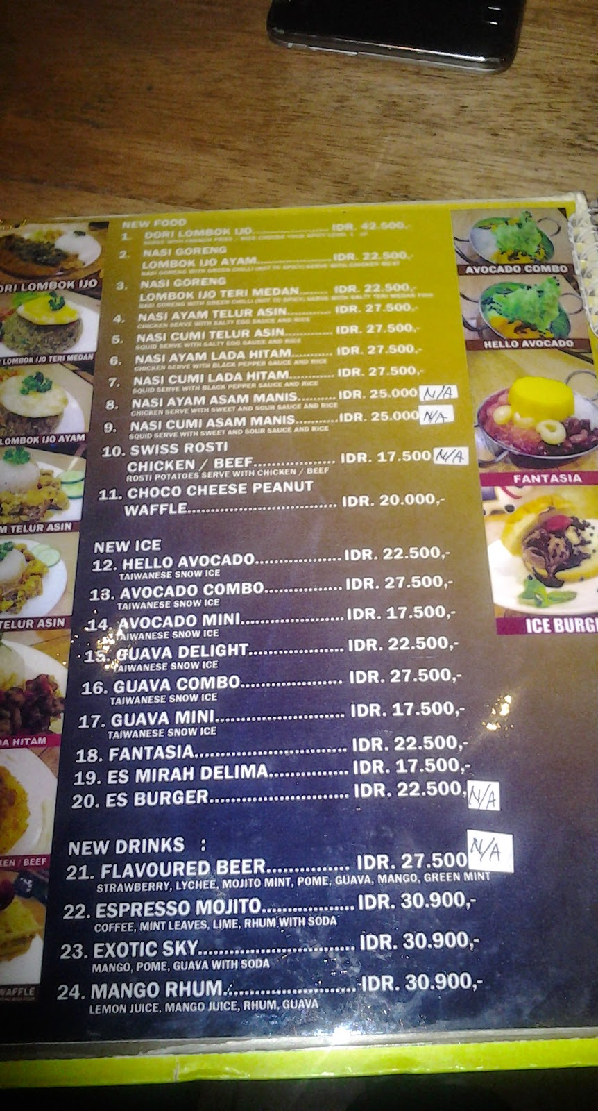 Petra Cafe Menu Hattiesburg