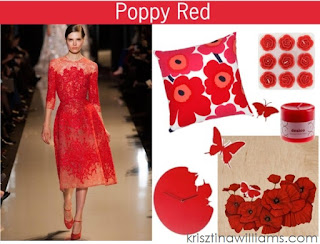 home+decor+++poppy+red+wall+decor+++top+color+trends+in+home+decor